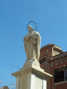 Inmaculada Concepción realizada por el escultor Manuel Ardil Robles. Fuente: cartagenaenlaactualidad.com